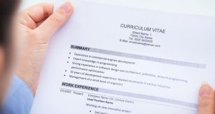 CV چیست